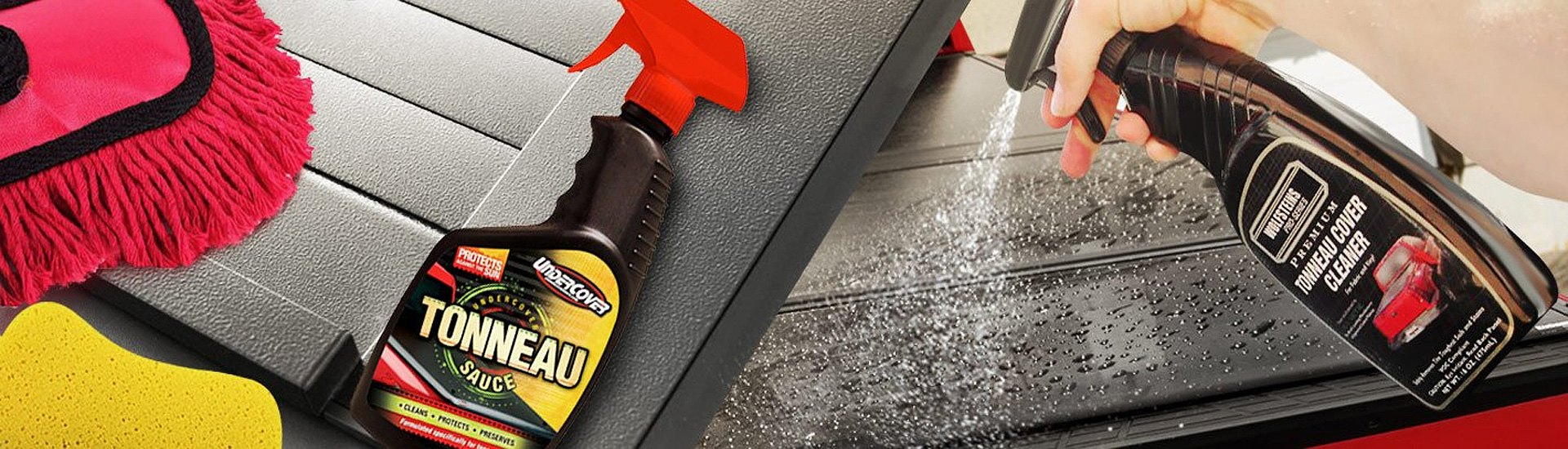 Tonneau Cover Cleaners & Protectors Remove The Dirt & Restore The Shine