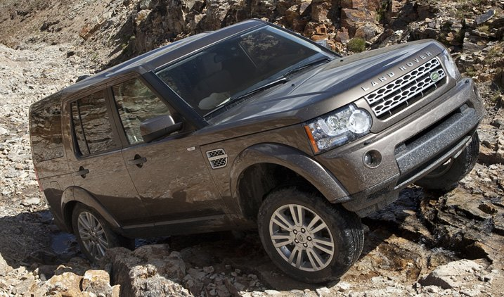 Land Rover On Serious Off-Roading