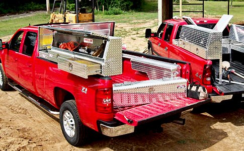 Ford Equipped With Tool Boxes