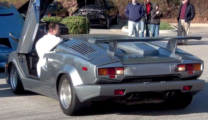 1974 Lamborghini Countach With Scissor Doors & What are Lambo Doors and How Do They Work?
