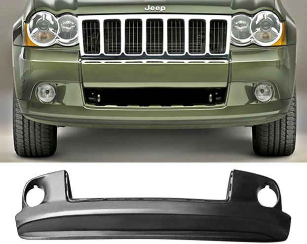 Front Valance Panel With Built In Airflow Lip