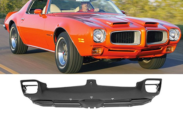 Steel Front Valance Panel On 73 Pontiac Firebird