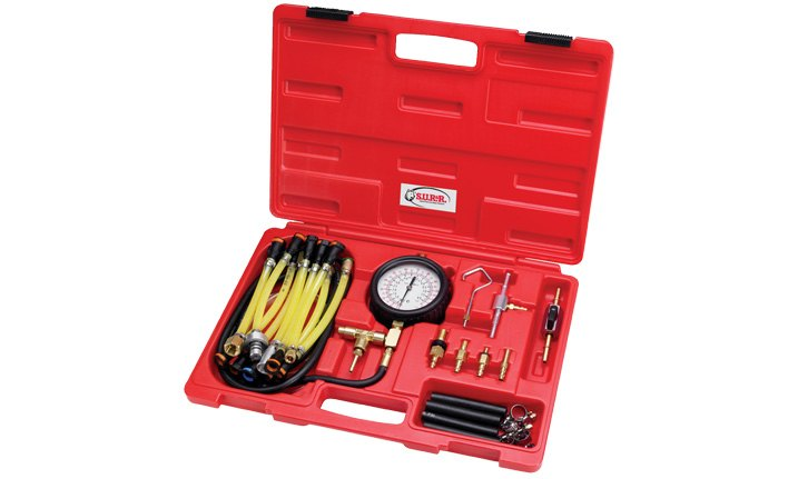 SUR&R Deluxe Fuel Injection Pressure Tester Kit