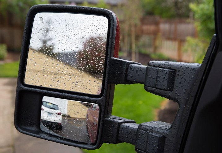Mirror Designed For Trailer Towing