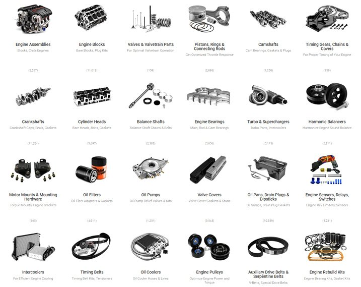 Engine Parts Page