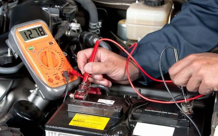 Alternator Tested By Professional Technician