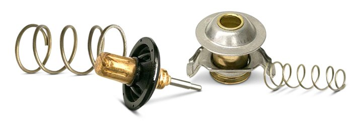 Components Of Typical Engine Thermostat