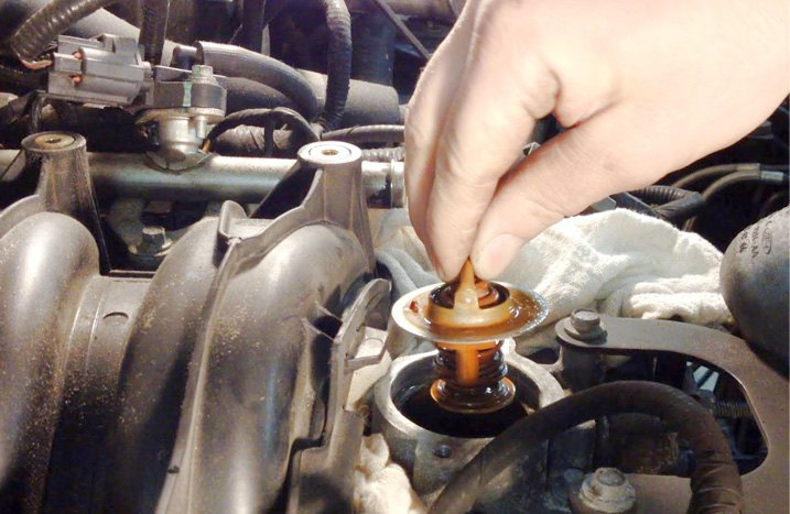 Thermostat Replacement Process