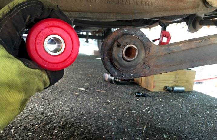 Axle Support Bushings