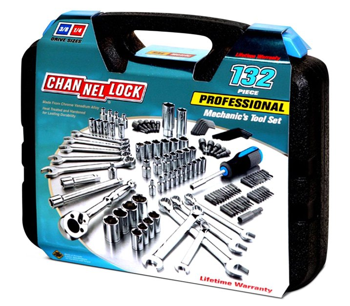 Channellock 132-piece Mechanic's Tool Set