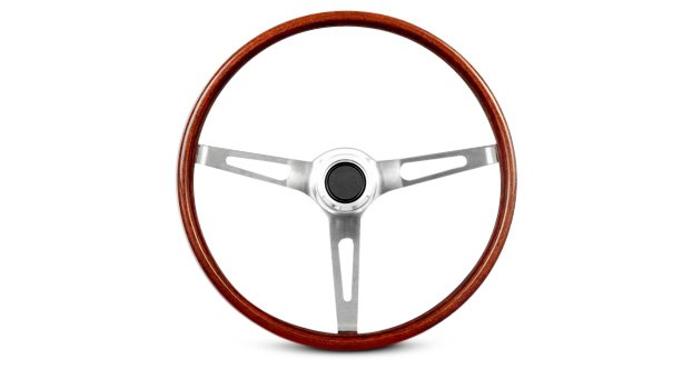 GT Performance GT3 Classic Slot Style Wood Steering Wheel
