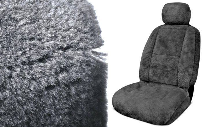 Eurow XL Design Sheepskin Seat Cover