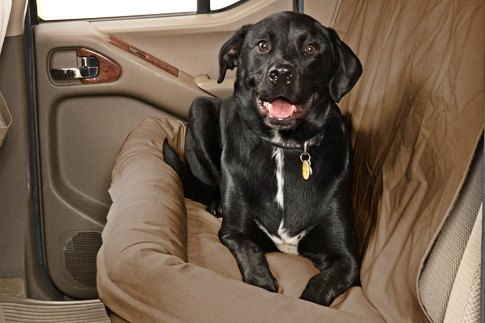 The Universal DogAbout Quick Fit Bench Seat Cover Canine Covers Back Dog Bed