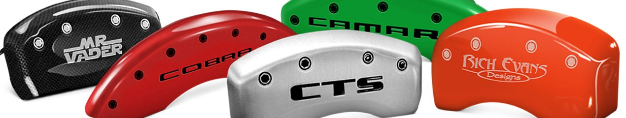 Caliper Covers In Different Colors