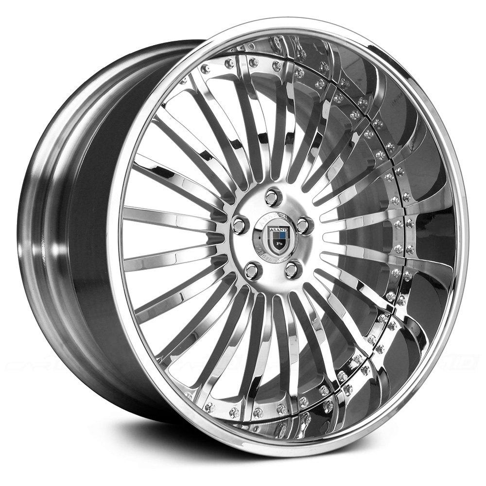 Asanti 174 122 2pc Standard Any Finish Wheels Custom Rims