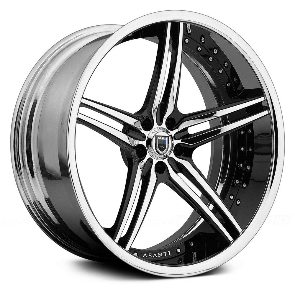 ASANTI® 805 3PC Wheels - Custom Painted Rims