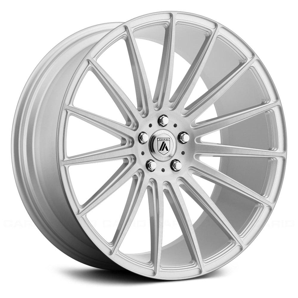 ASANTI® ABL-14 Wheels - Brushed Silver Rims