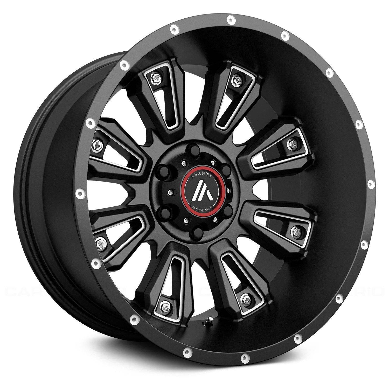 asanti ab808 wheels 22x12 44 8x165 1 125 5 black rims set of 4 Lowrider GMC Truck asanti ab808 wheels 22x12 44 8x165 1 125 5 black rims set of 4