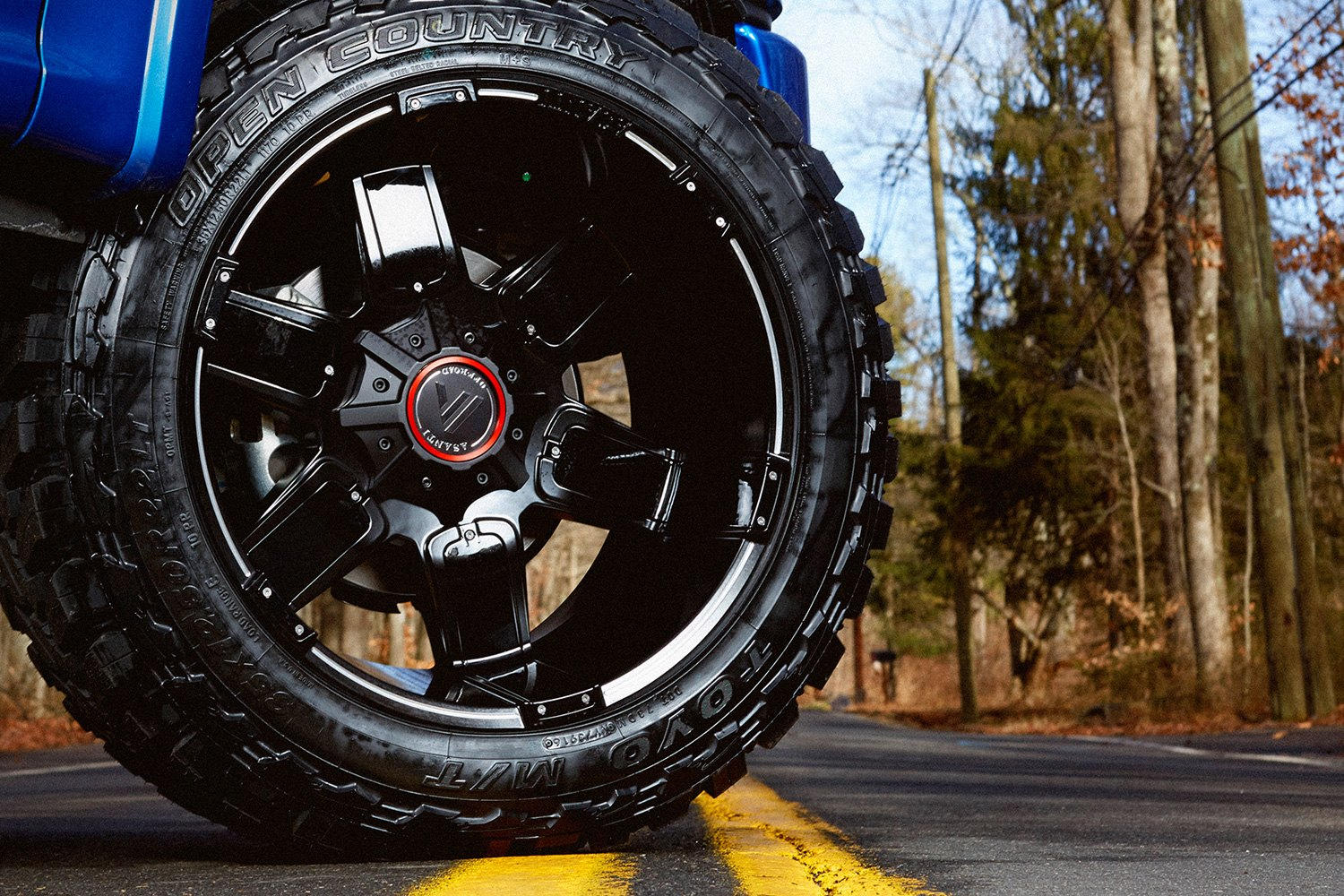 Asanti Off Road Ab811 Wheels Satin Black With Milled Accents And