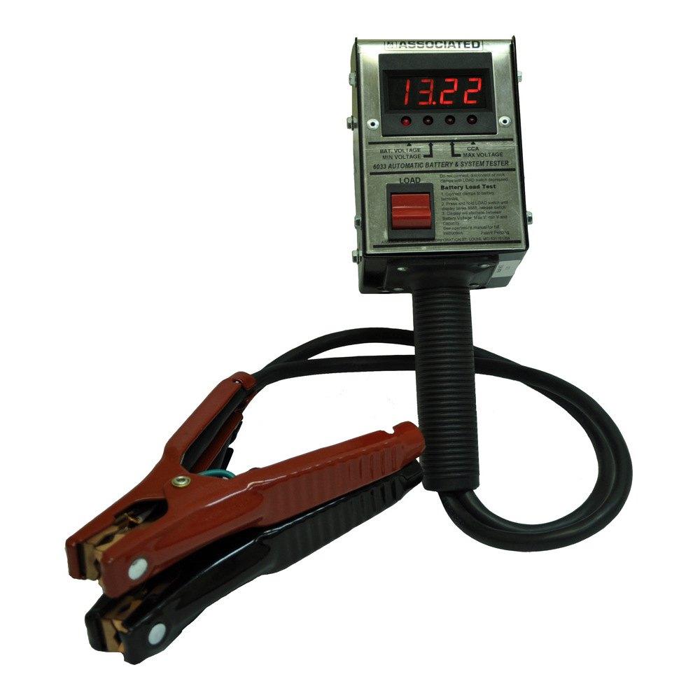 Battery Testing Equipment : Associated equipment digital measures cca battery