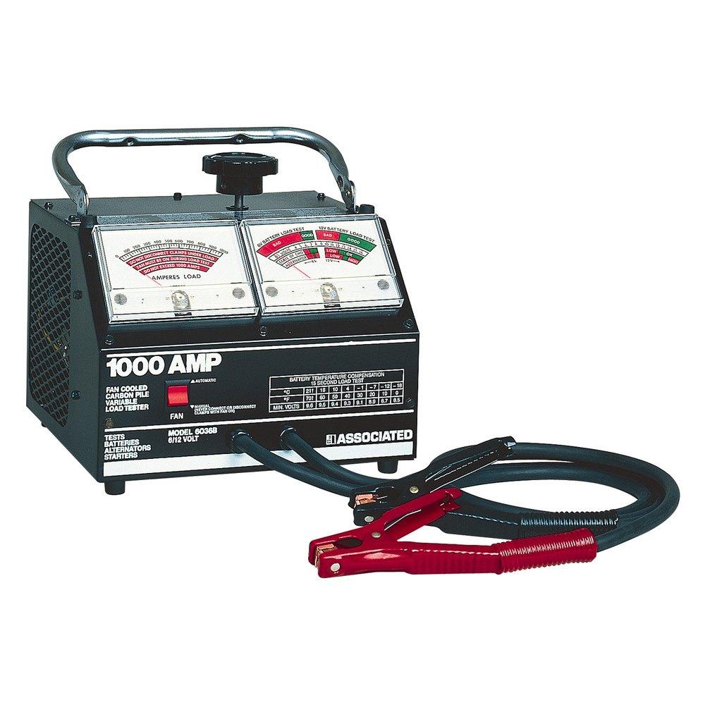 Battery Testing Equipment : Associated equipment b amp carbon pile load