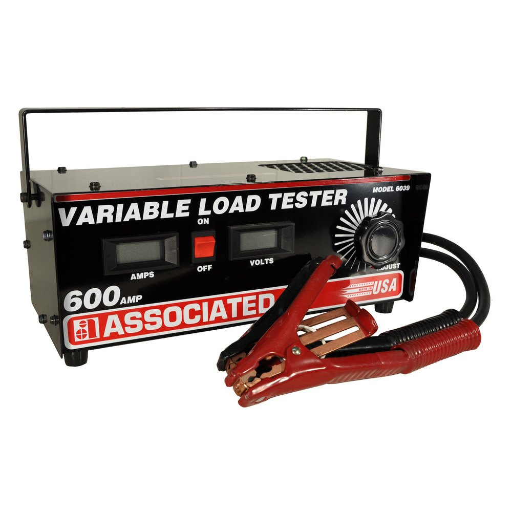 Associated Battery Tester : Associated equipment a variable load testers