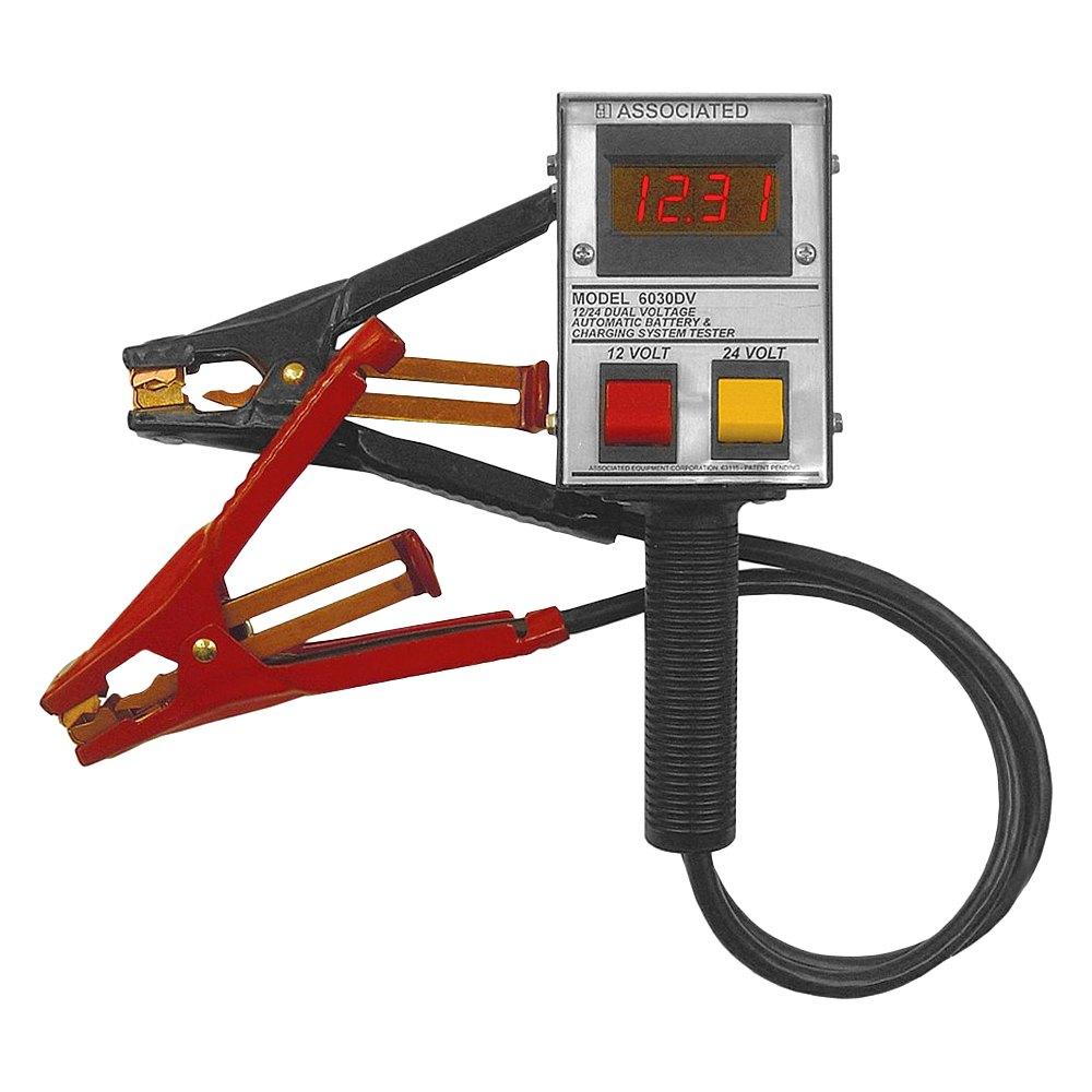 Associated Battery Tester : Associated equipment dv v a battery tester