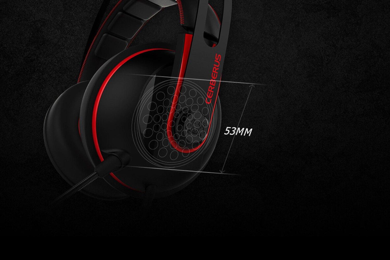 Asus 90yh015r B1ua00 Cerberus V2 Red Gaming Headset