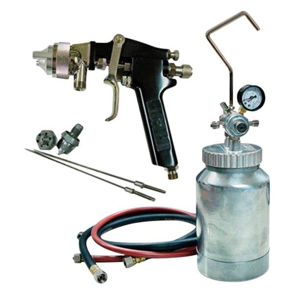Pressure Paint Gun Pot : Atd quart pressure pot spray gun and hose kit