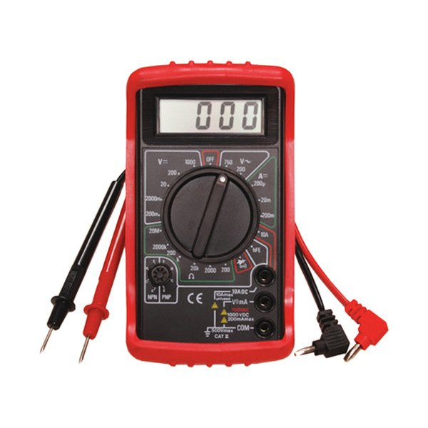 Electronic Test Instruments : Atd digital multimeter with holster