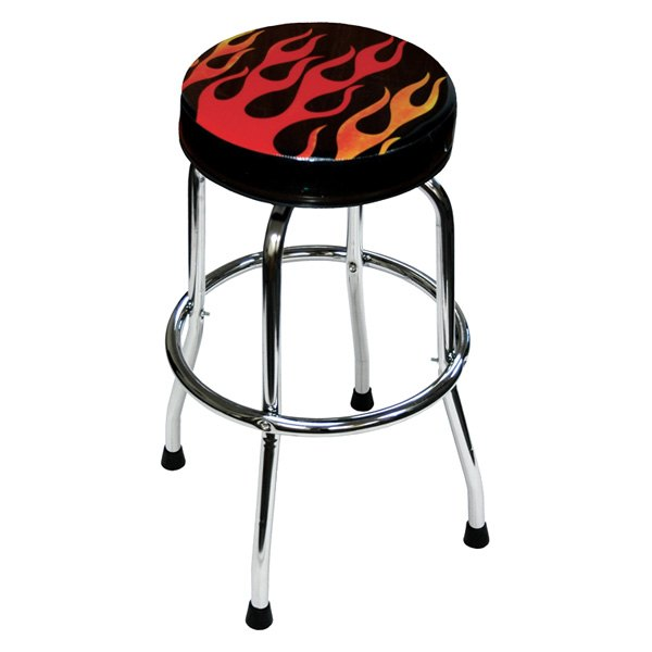 Atd 174 81056 Shop Stool With Flame Design
