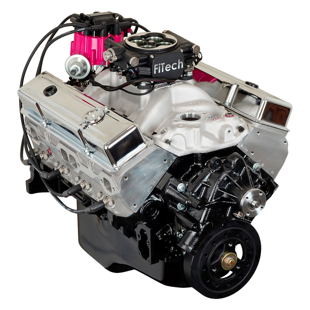 Replace® HP36C-EFI - Stage 3 383 Stroker 435HP Complete Engine (Chevy Small  Block V8)