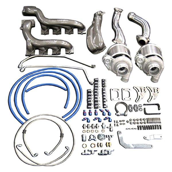 Garrett Twin Turbo Kit: Garrett GTX GEN2 Twin Turbo Tuner Kit