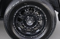 ATX SERIES® - ASSAULT Satin Black on Toyota FJ Cruiser
