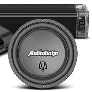 Audiobahn® - Murdered Out Series Amplifier Subwoofer