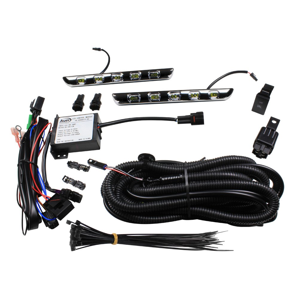 Auer Automotive Tav 713 Led Daytime Running Light Kit Lights Wiring Kitauer