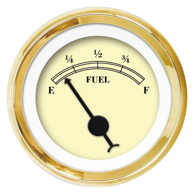 Aurora Instruments American Classic Gold Fuel Level Gauge GAR23ZEXKABCB