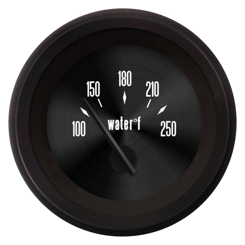 Aurora Instruments GAR1128ZEXLAABC American Classic Gold VI Water Temperature Gauge