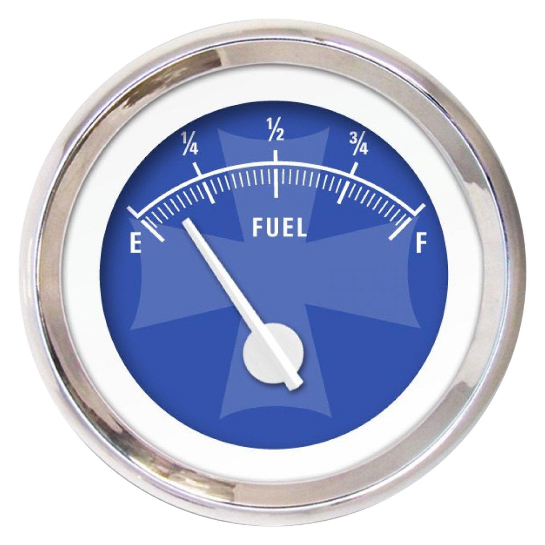 Aurora Instruments GAR175ZMXKABCC Iron Cross Red Fuel Level Gauge
