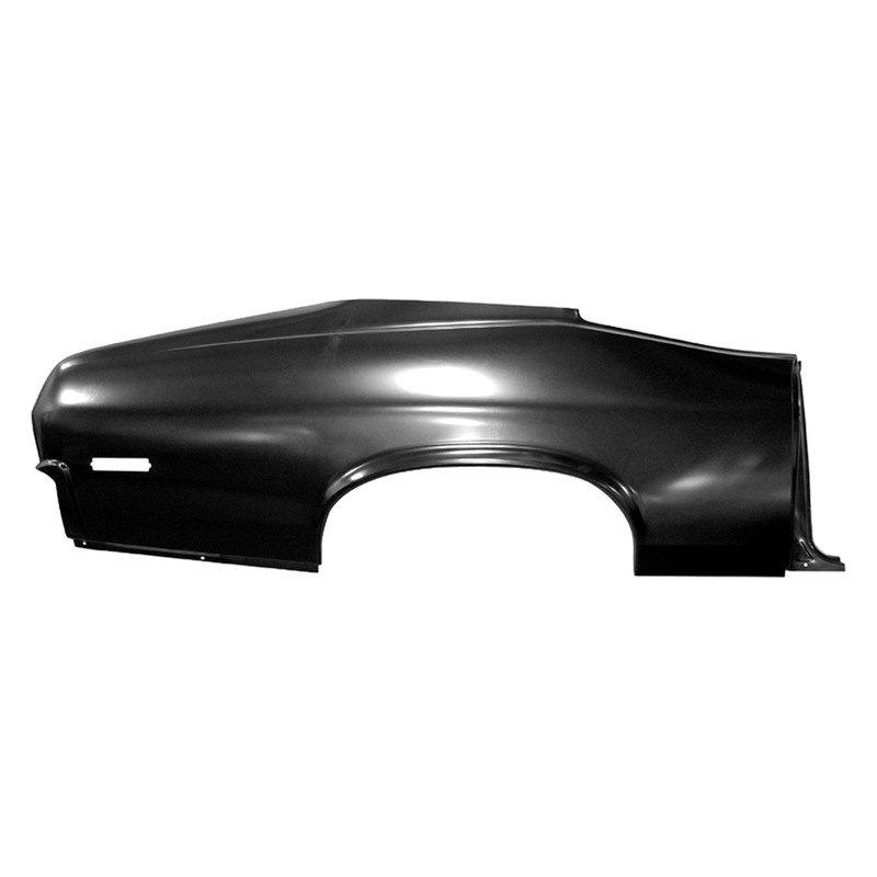 Aluminum Car Panels : Auto metal direct chevy nova  quarter panel skin
