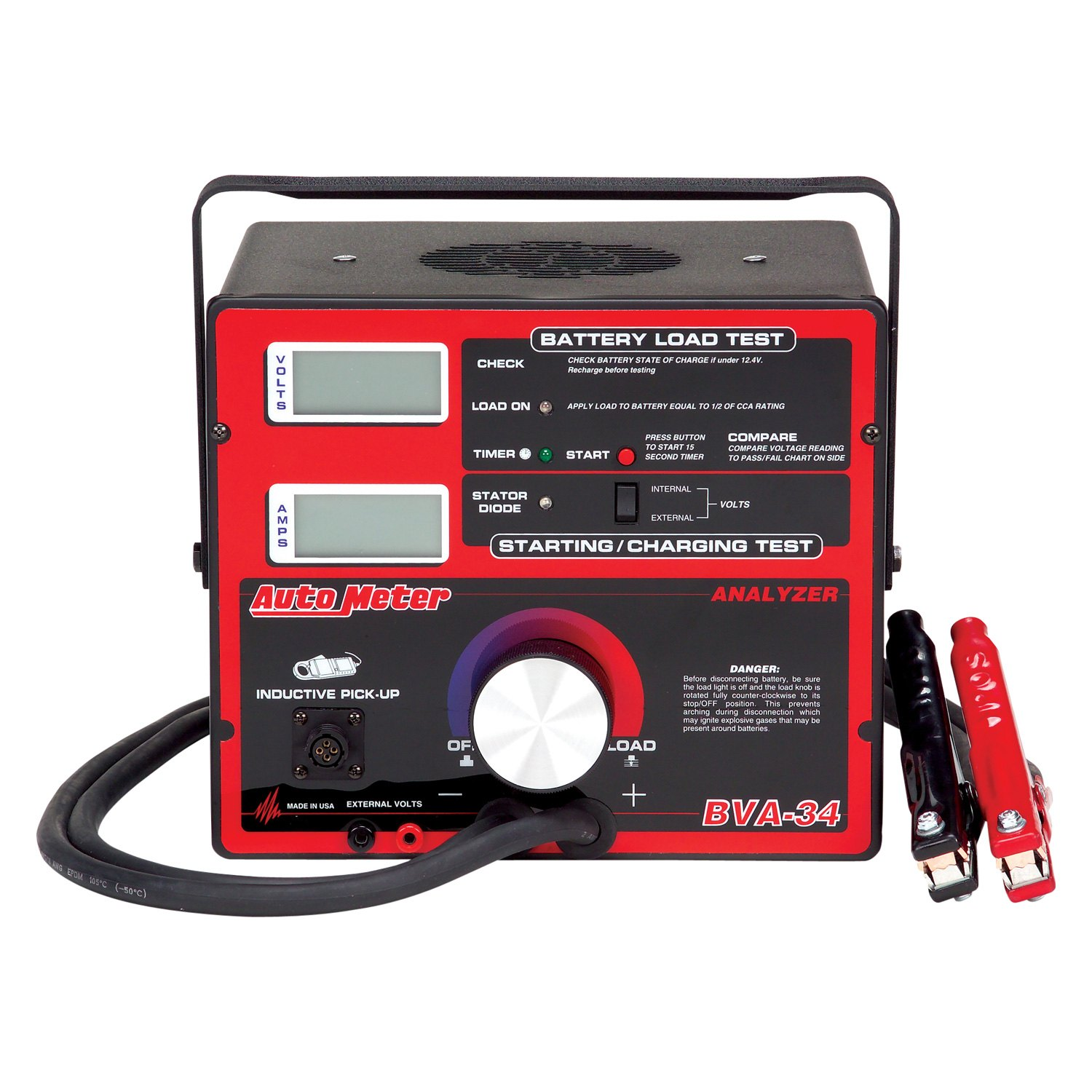 Auto Meter Battery Testers : Auto meter bva charging system analyzer battery tester