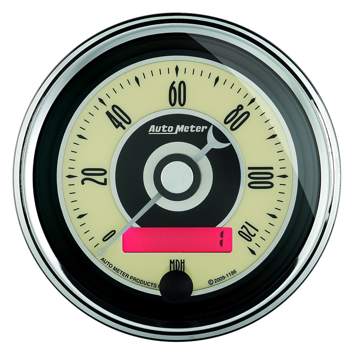Auto Meter Electronic Speedometers : Auto meter cruiser ad™ speedometer in dash gauge