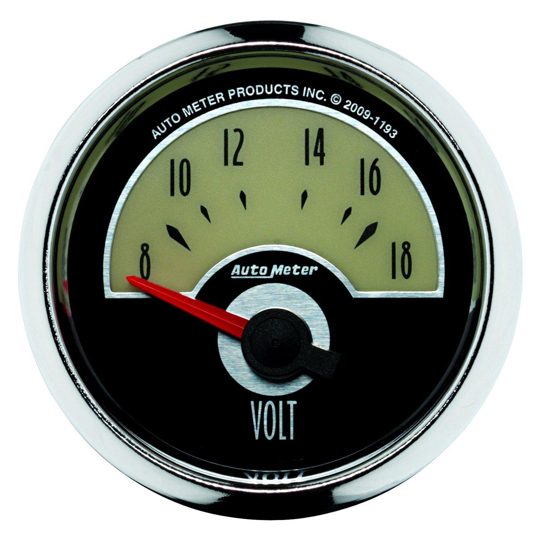 In Dash Digital Voltmeters : Auto meter cruiser™ voltmeter in dash gauge