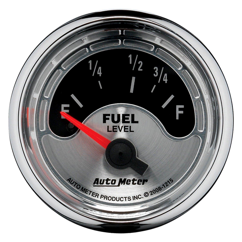 Auto Meter American Muscle Fuel Level Dash Gauge