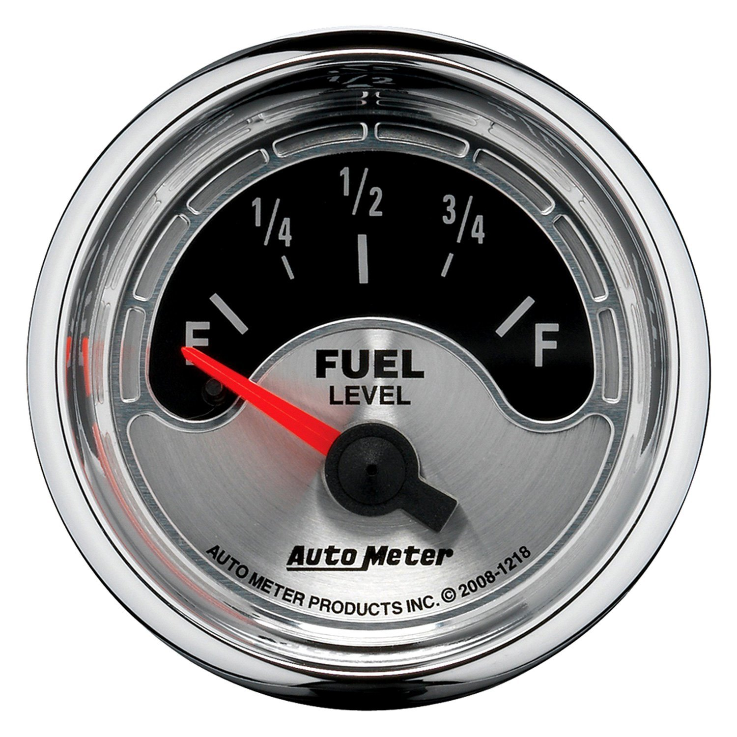 auto meter 1218 american muscle fuel level in dash gauge. Black Bedroom Furniture Sets. Home Design Ideas