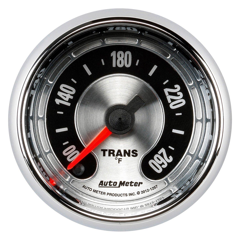 Auto Meter 1257 American Muscle Transmission Temperature In Dash Gauge