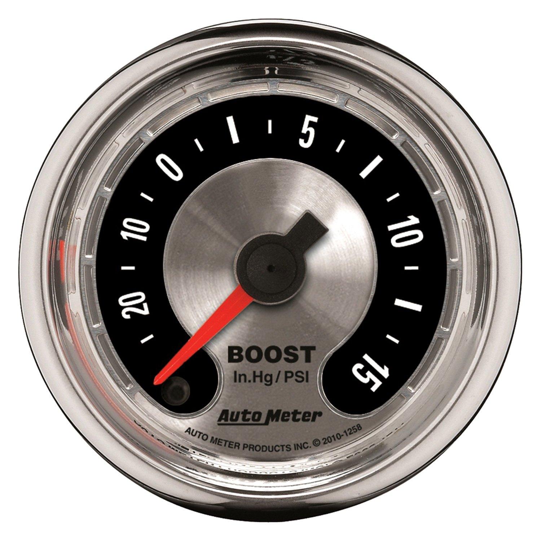 """Auto Meter® - American Muscle Series 2-1/16"""" Boost/Vacuum"""