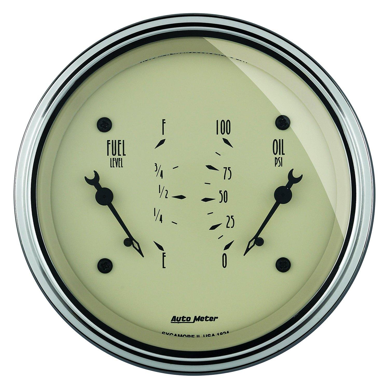 Antique Meter And Gauges : Auto meter antique beige™ fuel oil pressure in