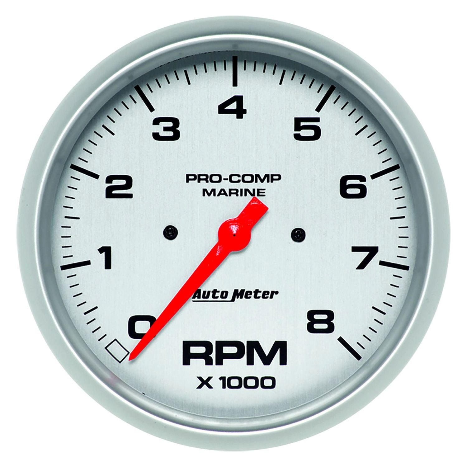 Rpm Gauge Quotes Autometer Cobalt Tach Wiring Diagram Along With Auto Meter 200797 33 Marine Silver Tachometer In Dash