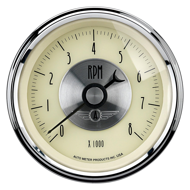 Antique Meter And Gauges : Auto meter prestige antique ivory™ tachometer in